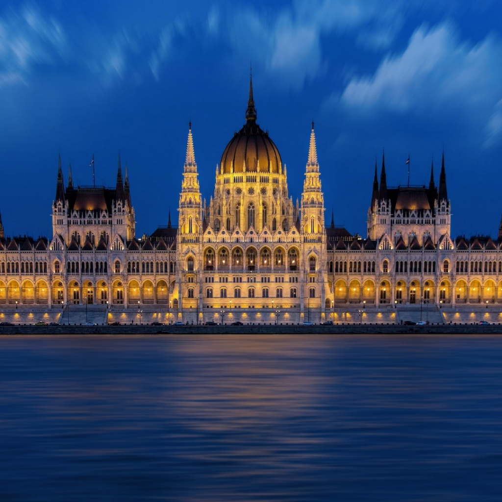 Hungary City Water View