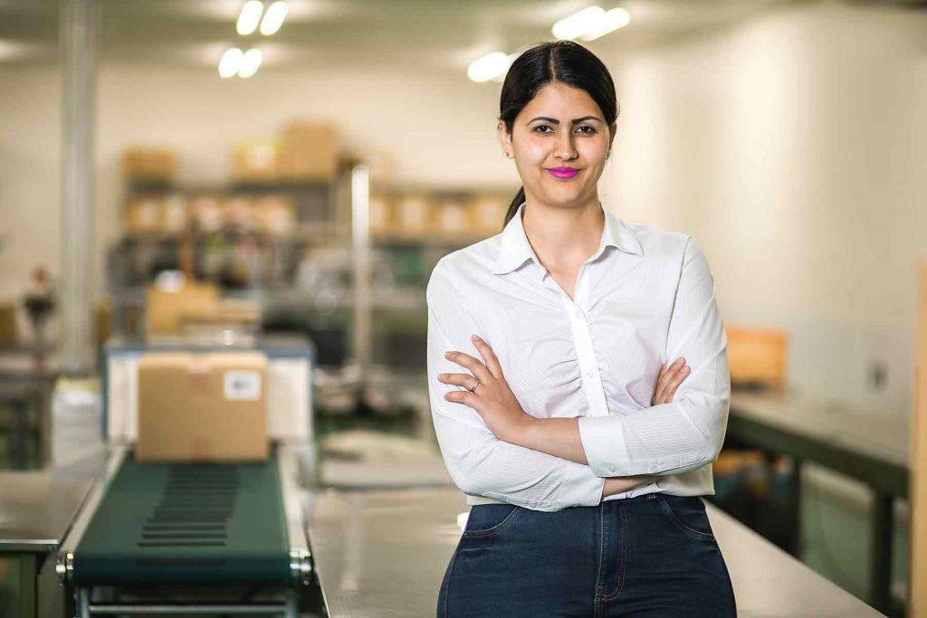 Brazil Lady Employee