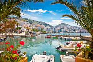 Albania City Water View
