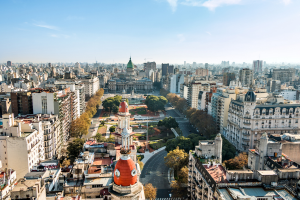 Argentina Wide City View