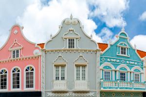 Aruba Colorful Buildings