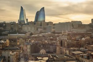 Azerbaijan City Daytime View