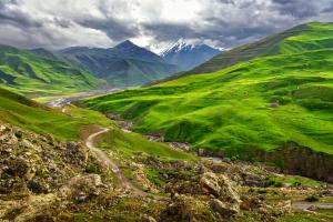 Azerbaijan Landscape View