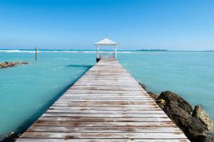 Bahamas Bridge in Ocean