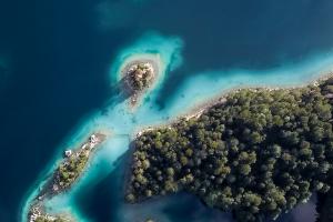 Bahamas Sky Island View