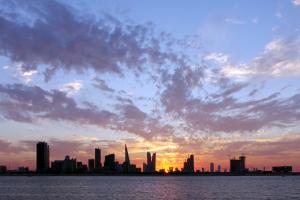 Bahrain Sunset City View