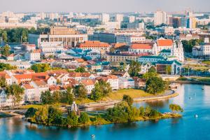 Belarus City Water View