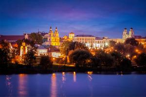 Belarus Nightime City View