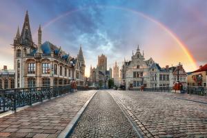 Belgium City View