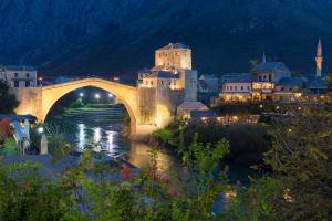 Bosnia and Herzegovina Building Water View