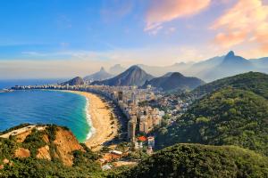 Brazil City Water View