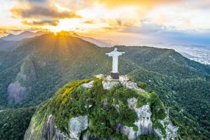 Brazil Mountain Green Landscape