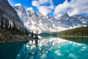 Canada Blue Water Mountain View