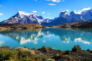 Chile Mountain Water View