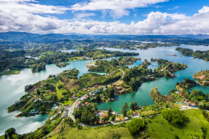 Colombia Land Water Overview