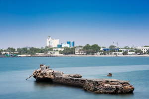 Djibouti City with Water View