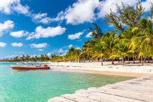 Dominican Republic Beach Boat