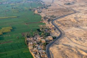Egypt Desert-Green View