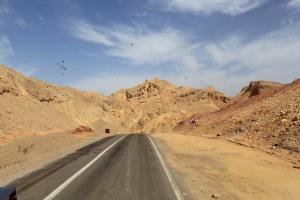 Egypt Desert Road