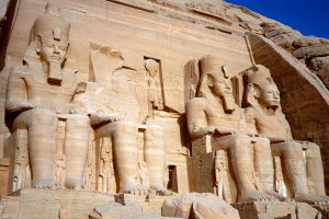 Egypt Pyramid Temple