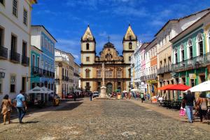 El Salvador City View