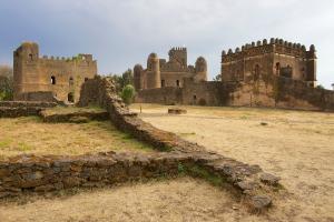 Ethiopia Old Buildings