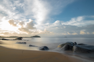 French Guiana Beach View