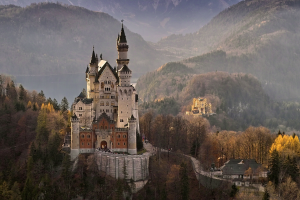 Germany Castle Woodland View