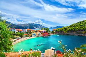 Greece Beach Water View