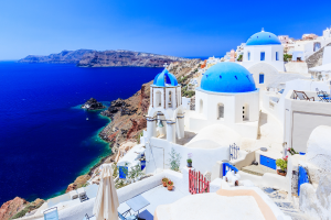 Greece City Water View