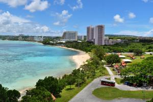 Guam Beach and Condo View