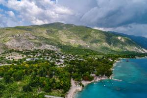 Haiti Mountain Ocean View