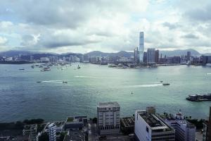 Hong Kong Over Water