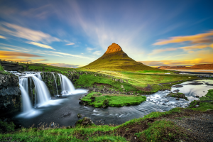 Iceland Landscape View