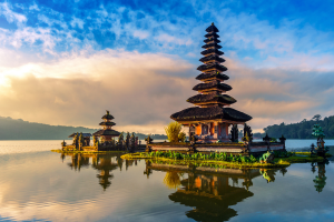 Indonesia Building on Water