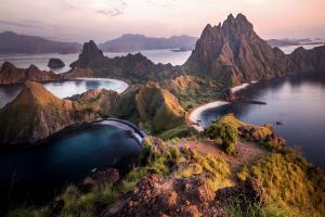 Indonesia Mountain Island View