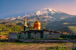 Iran Mountain Background