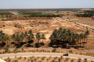Iraq Landscape View