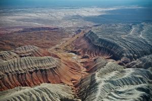 Kazakhstan Canyon View