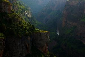Kazakhstan Cliff View