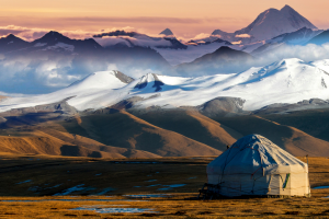 Kazakhstan Mountain View