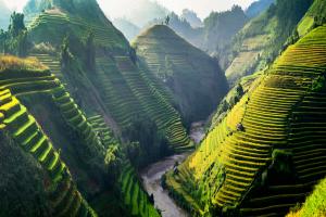 Laos Hill View