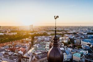 Latvia City View