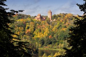 Latvia Hill View