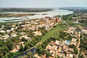 Mali Big Scale City and Landscape View