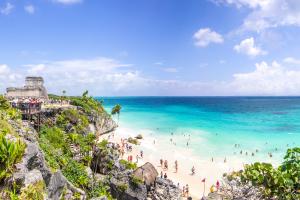 Mexico Sky Beach View