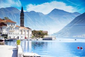 Montenegro Building Water Mountain View