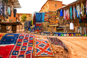 Morocco Downtown View
