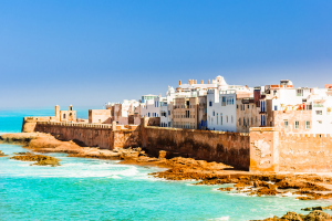 Morocco Ocean View with Building