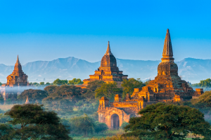 Myanmar Building View